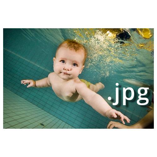 Unterwasser- atei Babyschwimmen Joe Kramer
